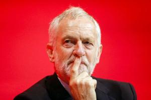 MUCH TO PONDER: The newly -re-elected Labour leader Jeremy Corbyn pictured during the second day of the party conference in Liverpool yesterday. Picture: Danny Lawson/PA Wire