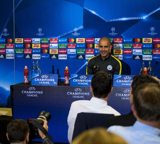 Meet Mr Contentment. Pep Guardiola unflappable as Manchester City face Celtic test