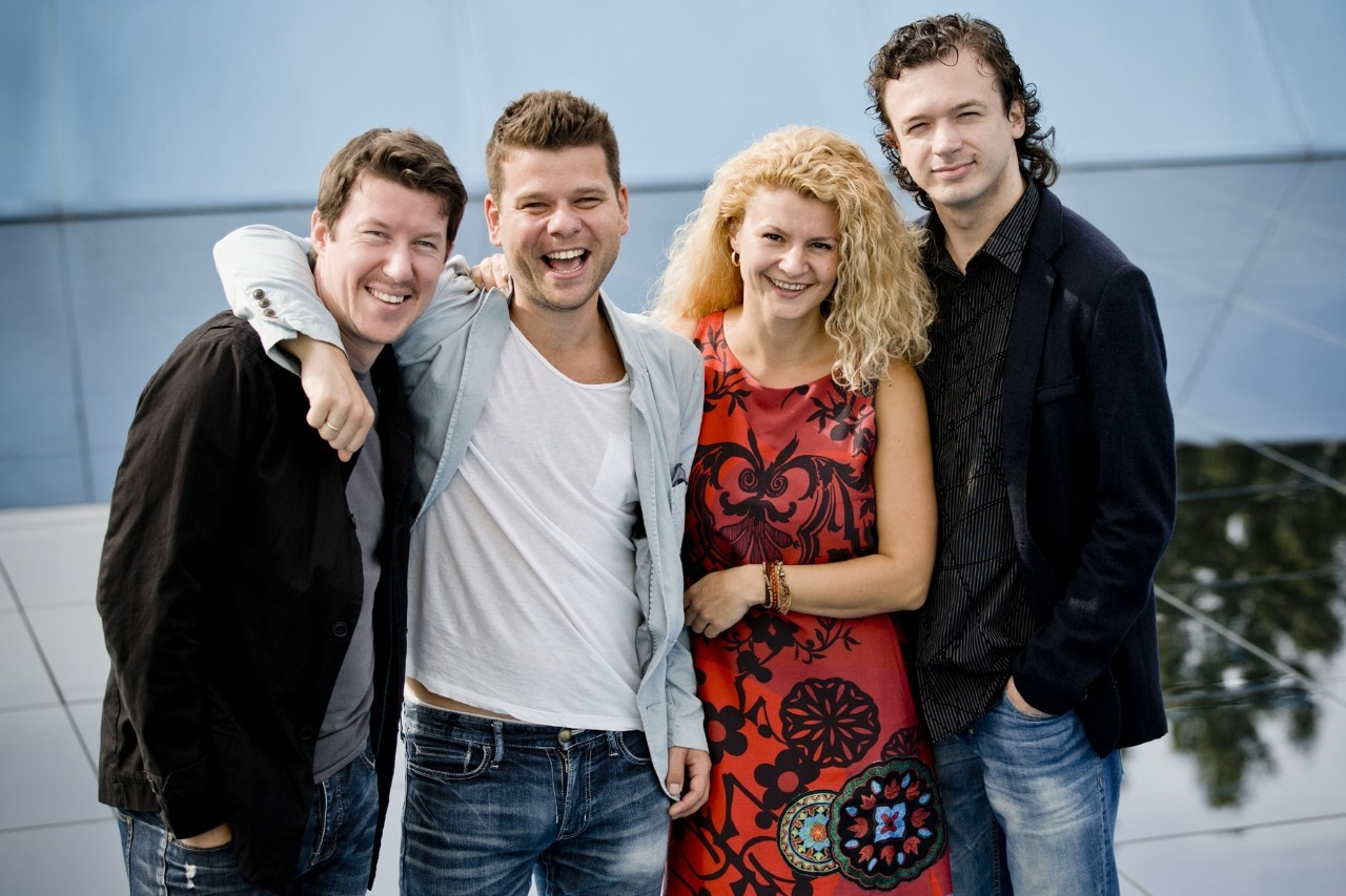 Former Artists in Residence Pavel Haas Quartet photo: Marco Borggreve