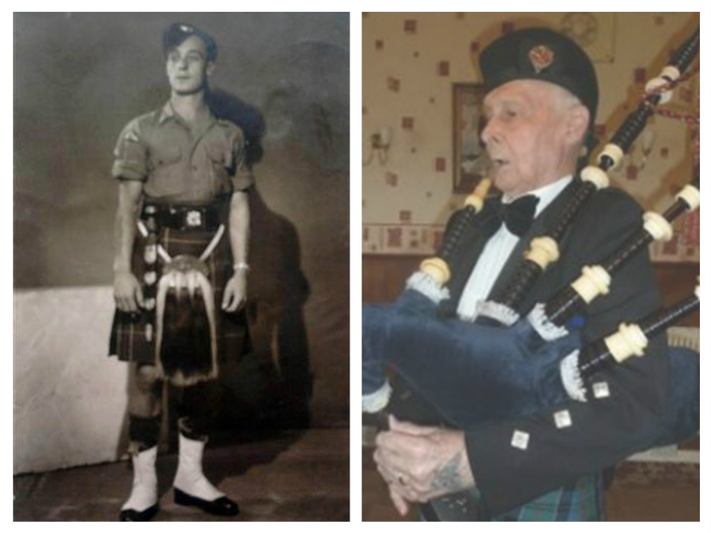 Italians say thanks to Mad Piper who helped  save village