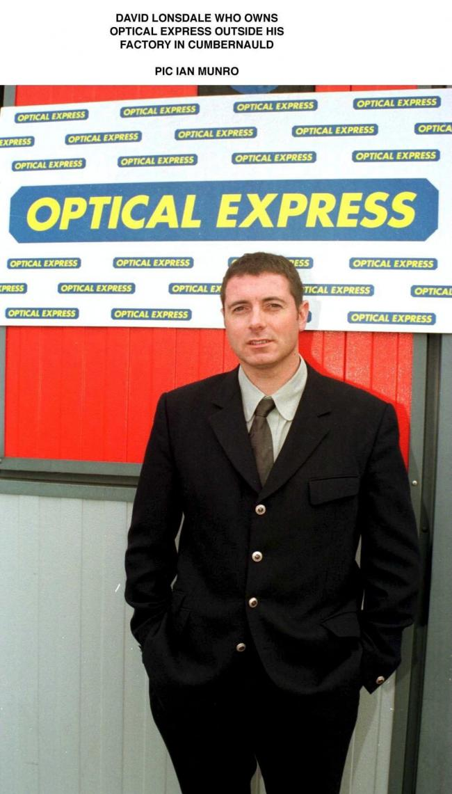 David Moulsdale, Optical Express