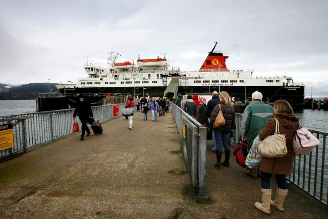 Agenda: Make ferry terminal fit  for foot passengers