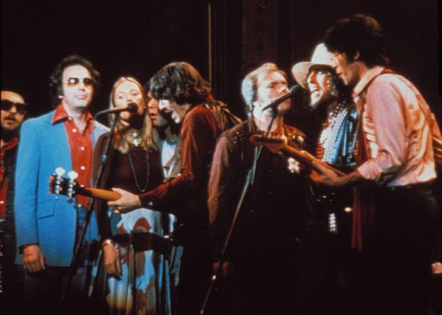 HeraldScotland: Van Morrison with Bob Dylan, Joni Mitchell and others in Martin Scorsese's concert film The Last Waltz