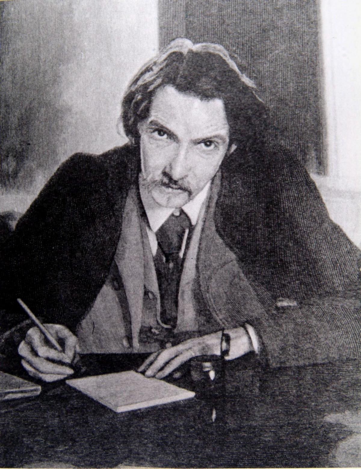 Heart broken letter of Robert Louis Stevenson's wife written
