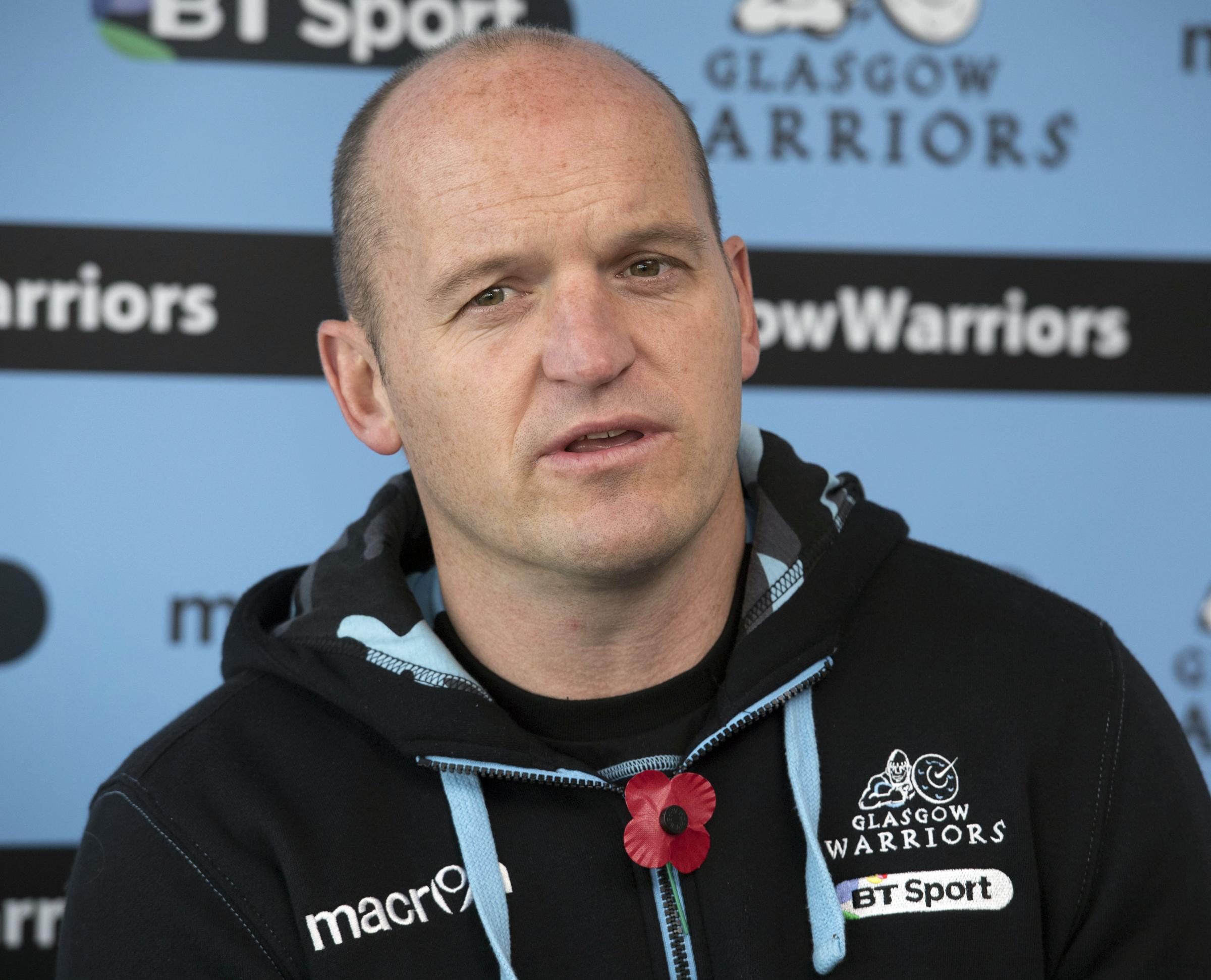 Glasgow Warriors coach Gregor Townsend. Picture: SNS