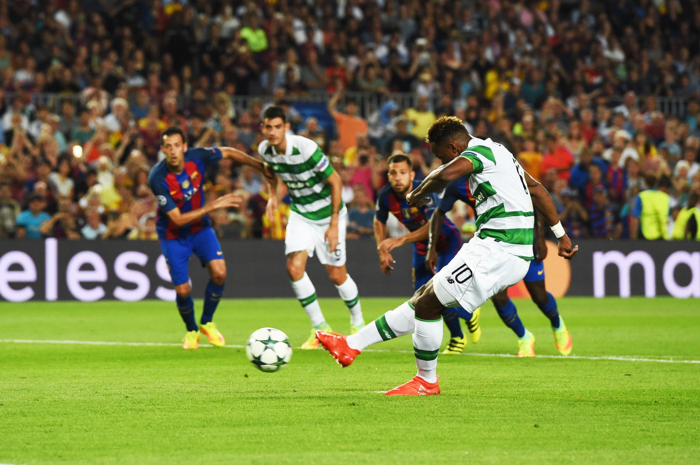 Dembele had a penalty saved during September's 7-0 defeat at the Nou Camp