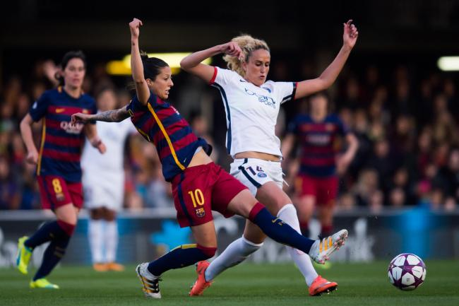 Barcelona's women's team have turned fully professional this year   Photograph: Getty