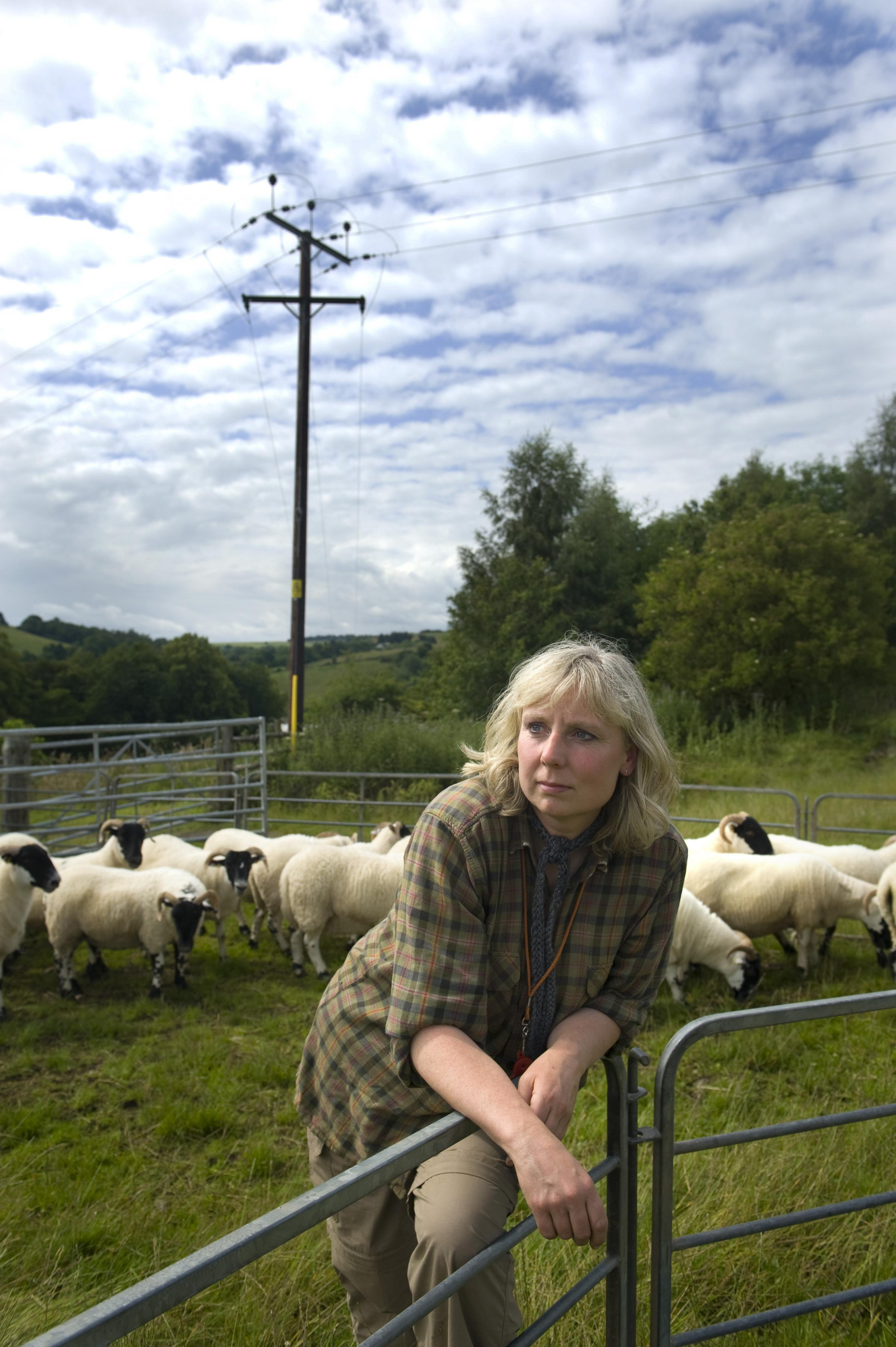 HELEN DOUGLAS: She lives close to the proposed wind farm and asked the judge to to overturn the planning permission granted to the company, but he rejected her appeal