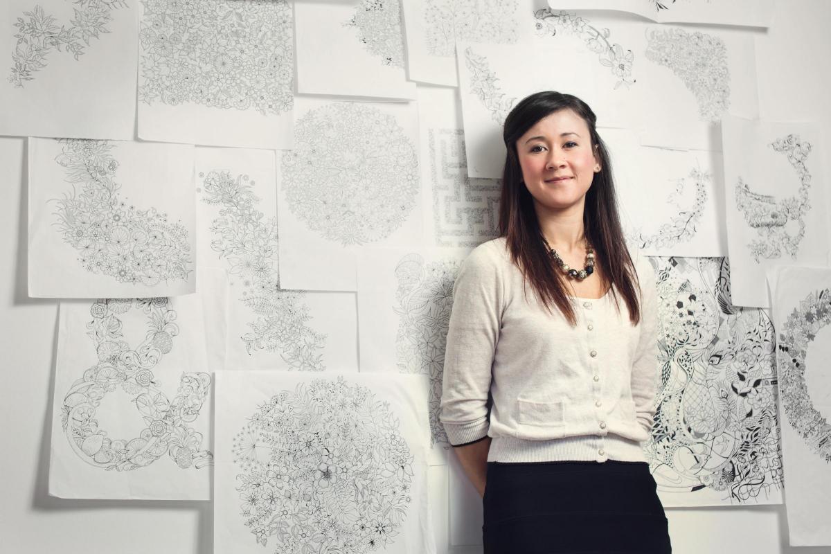 The ink evangelist: Illustrator Johanna Basford on pioneering the ...