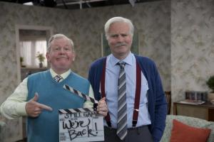 HeraldScotland: It's officially Bon Voyage from Still Game as cast prepare for second SEC Hydro show