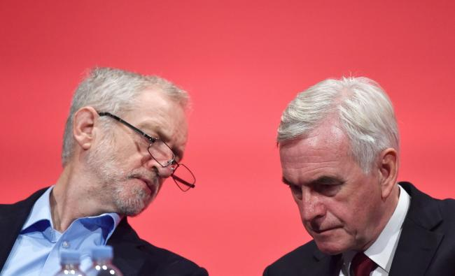 John McDonnell calls for 'radical federal UK' as Labour shifts ground on union