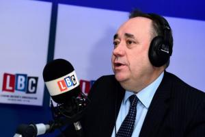 Former FM Alex Salmond told fellow LBC presenter to