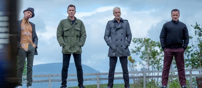Spud, Renton, Sick Boy and Begbie meet again in Trainspotting sequel T2