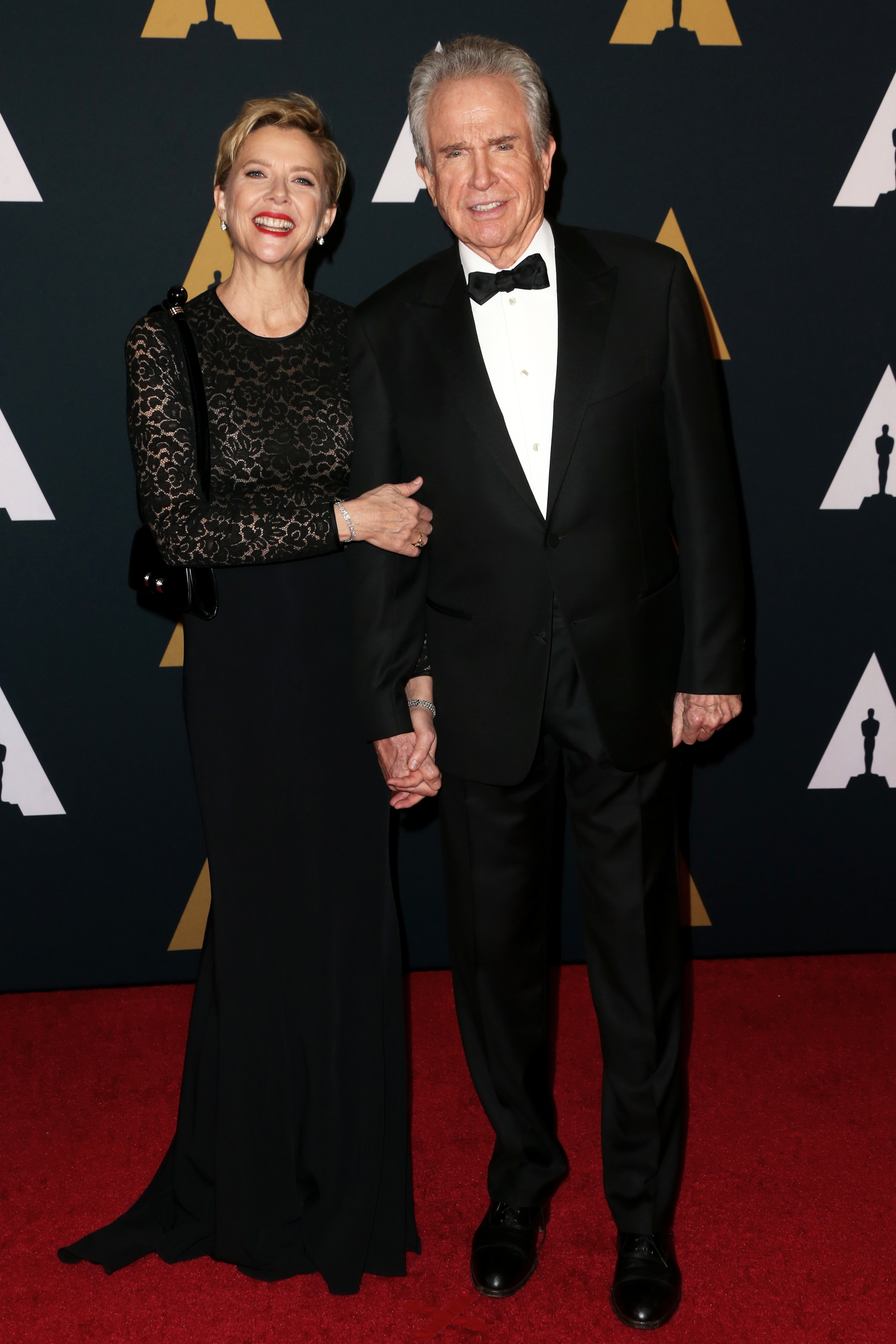 Annette Bening and husband Warren Beatty