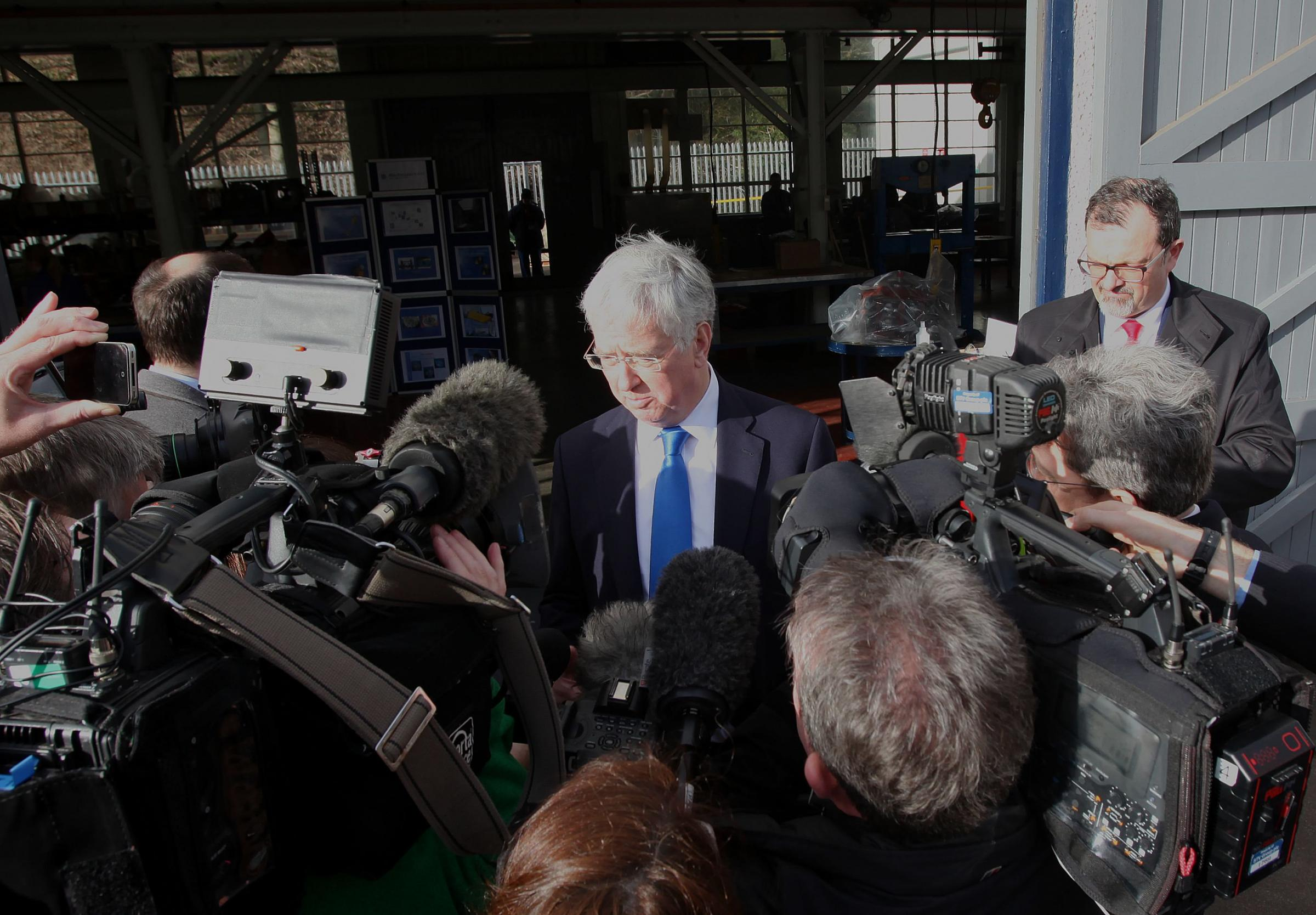 Analysis: under pressure Fallon seeks to outmanoeuvre media by dodging questions on blocking indyref2
