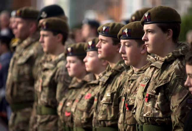 The Army Cadet Force works with schools in Scotland to help deliver leadership courses and Duke of Edinburgh Awards