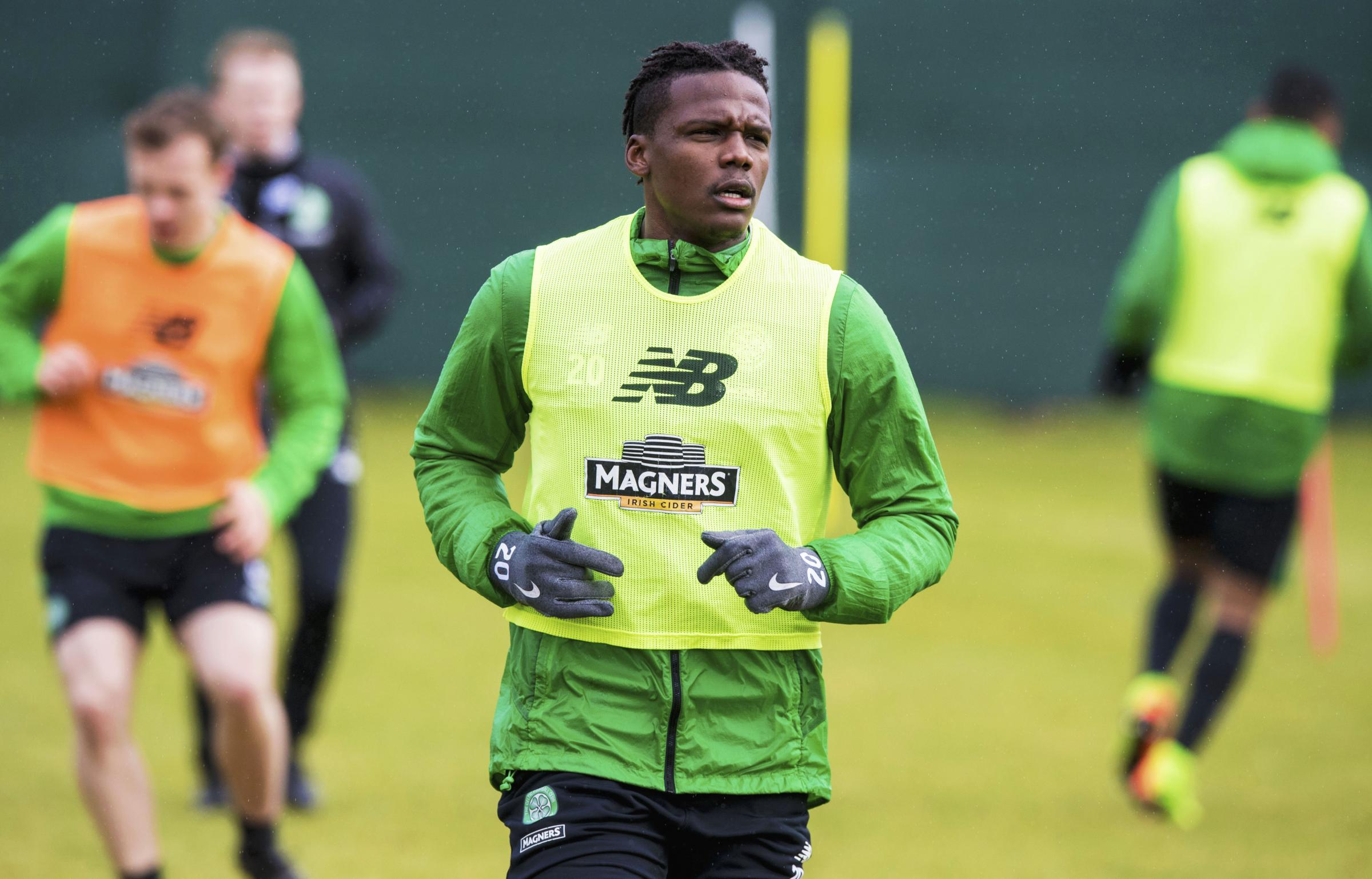 Celtic defender Dedryck Boyata says he's going nowhere and has a point to prove at Parkhead