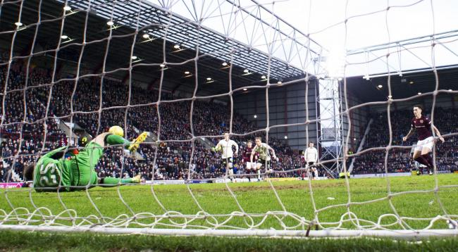 Image result for owain fon williams hearts penalty save