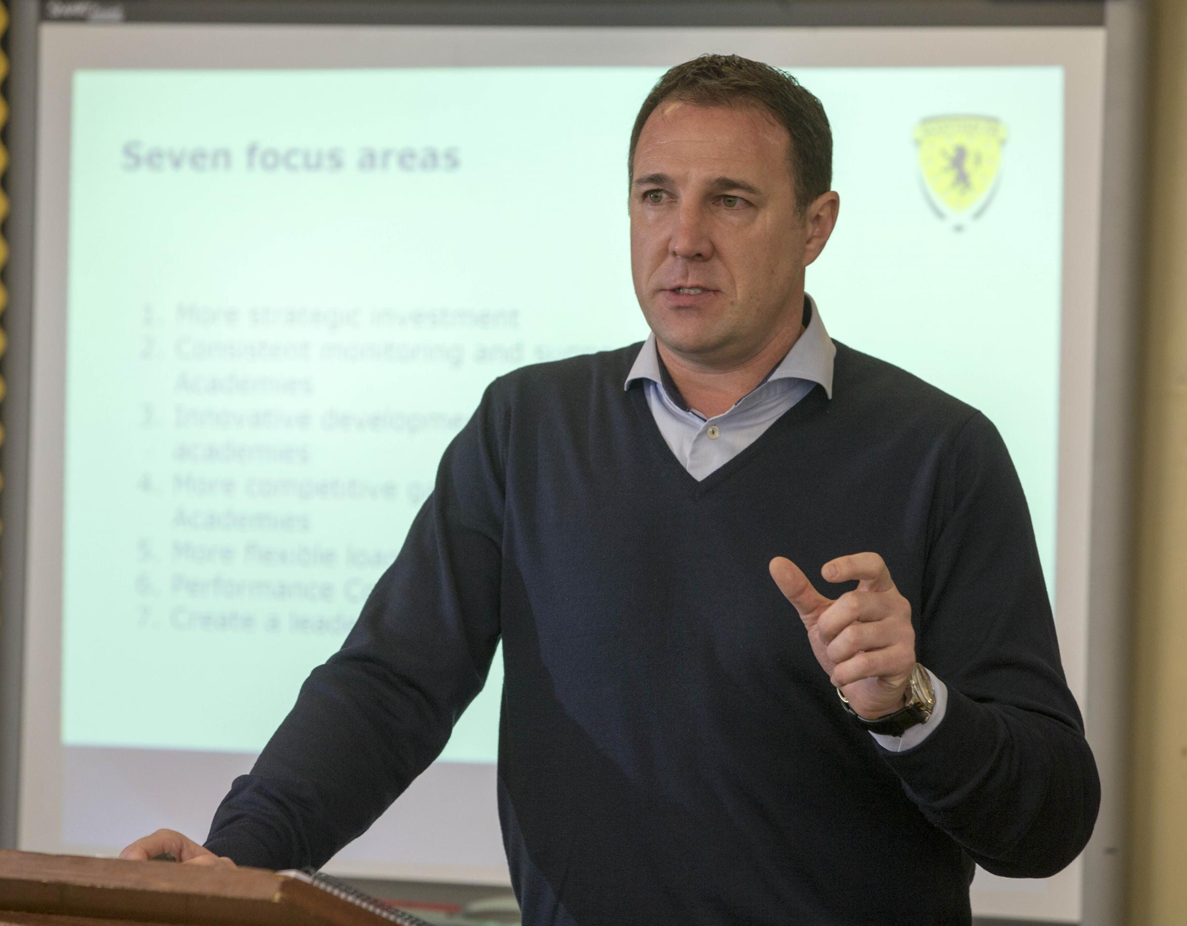 Malky Mackay enlists the help of Celtic manager Brendan Rodgers in fight to halt the decline of Scottish football