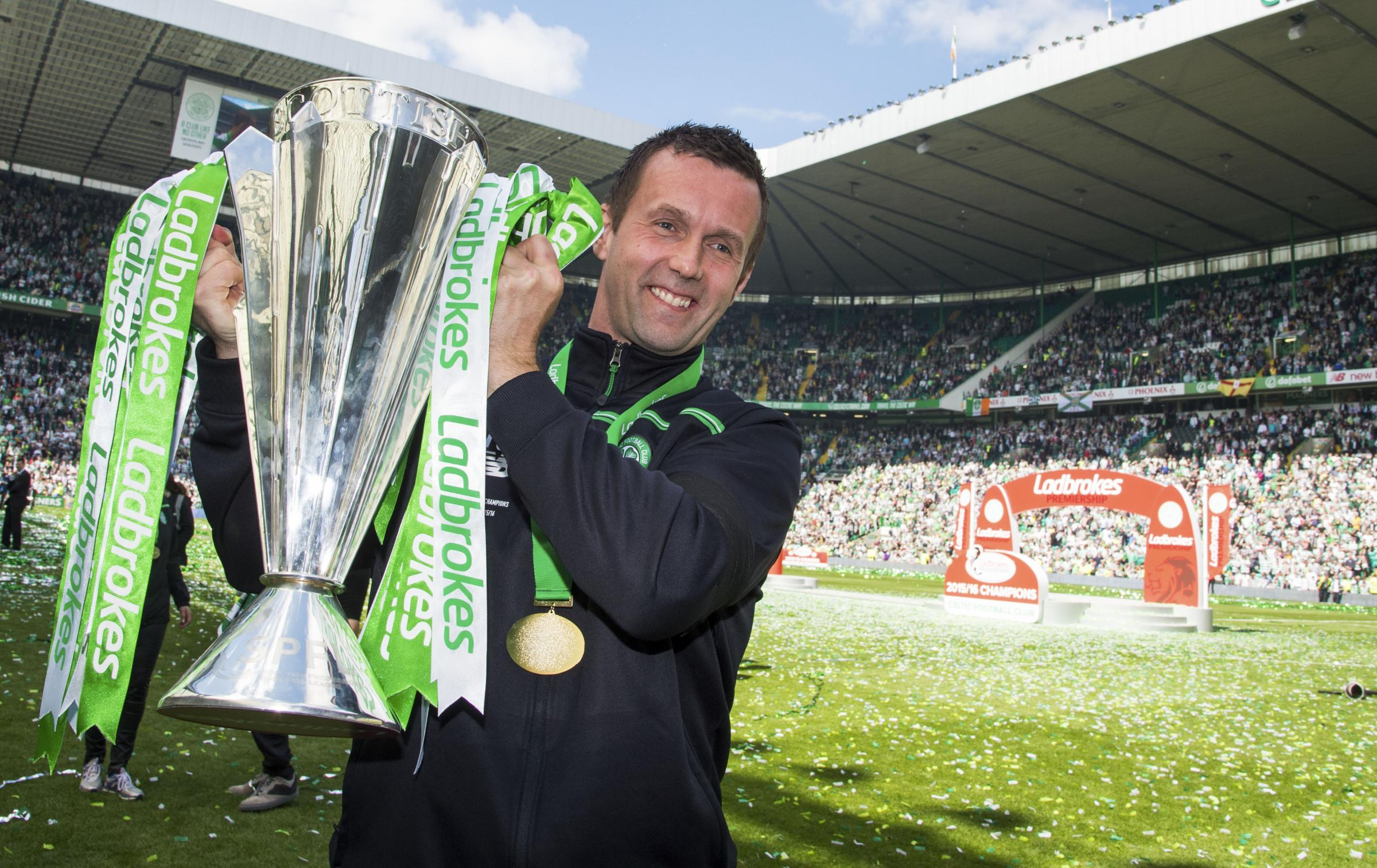 Former Celtic boss Ronny Deila scores sensational training ground volley with new club Valerenga