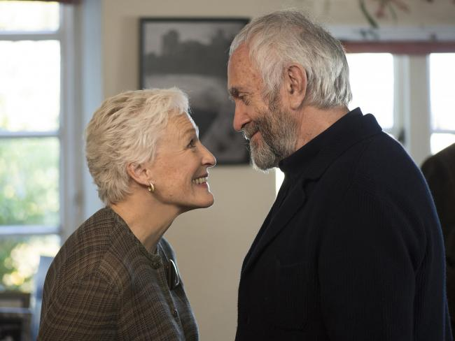 Glenn Close and Game of Thrones star Jonathan Pryce filmed The Wife in Glasgow, Edinburgh and Dumfries. Picture: Graeme Hunter/Meta Film London