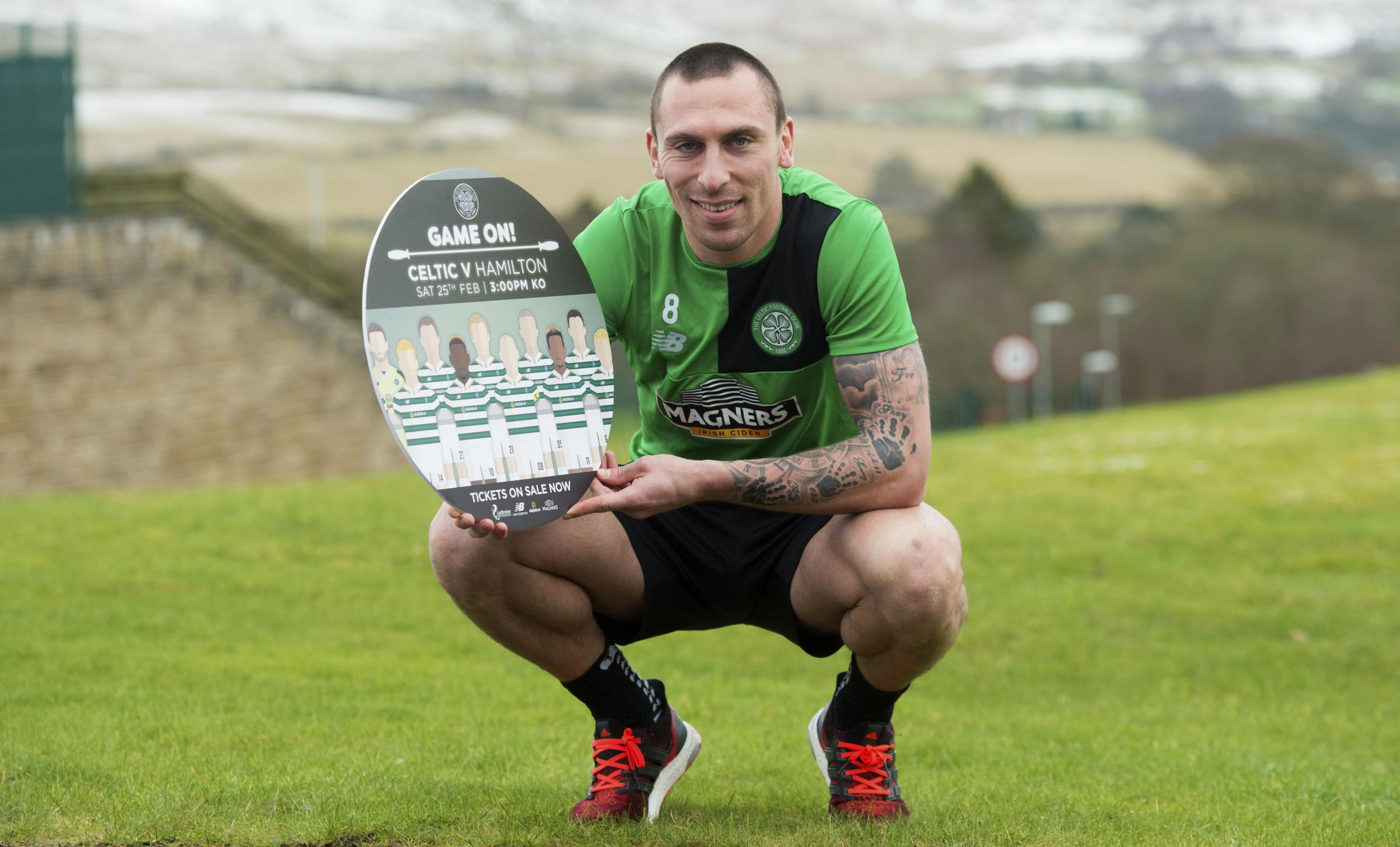 Celtic captain Scott Brown ready to return to Scotland fold for World Cup qualifier against Slovenia