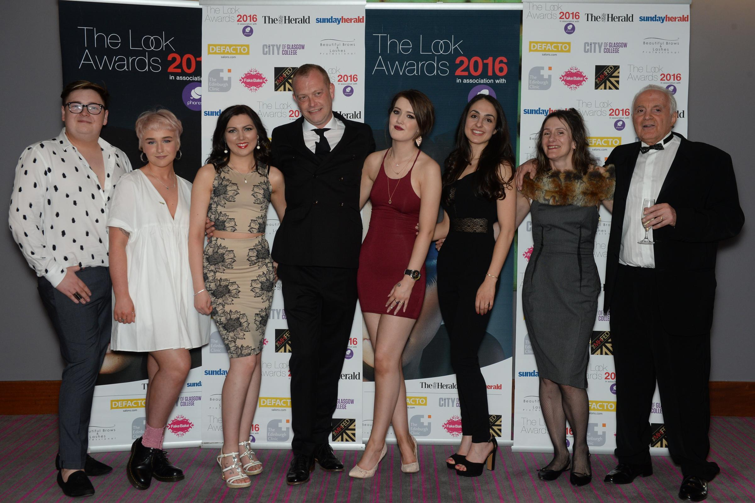 The Look Awards 2016. The West End Hair Team