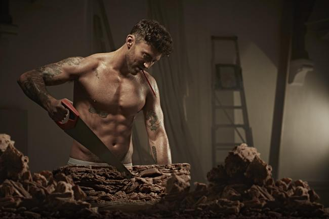 British singer and TV personality Jake Quickenden features in the British Heart Foundation's DECHOX campaign, challenging the nation to give up chocolate this March, with money raised through sponsorship going towards funding the research needed to he