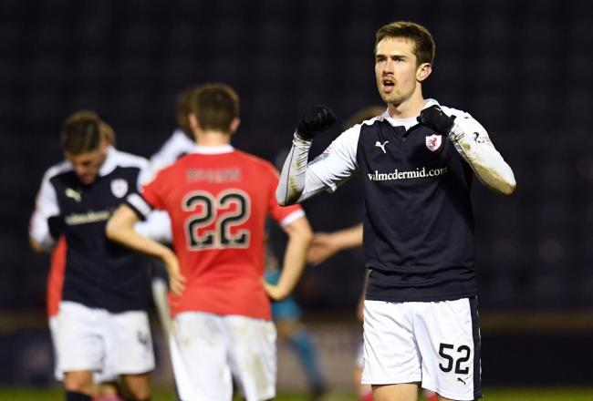 Raith Rovers claimed a precious 2-0 win over the Buddies thanks to a double from on-loan Rangers striker Ryan Hardie