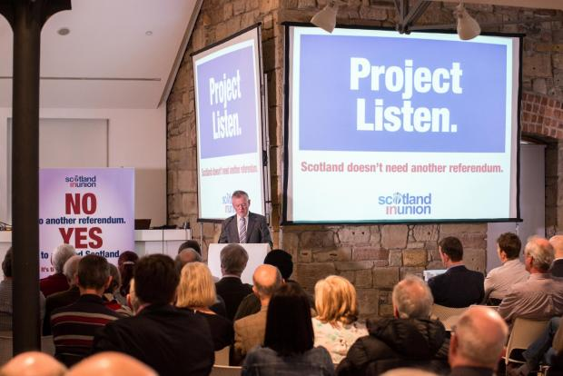 HeraldScotland: Scotland in Union chief executive Graeme Pearson launches Project Listen