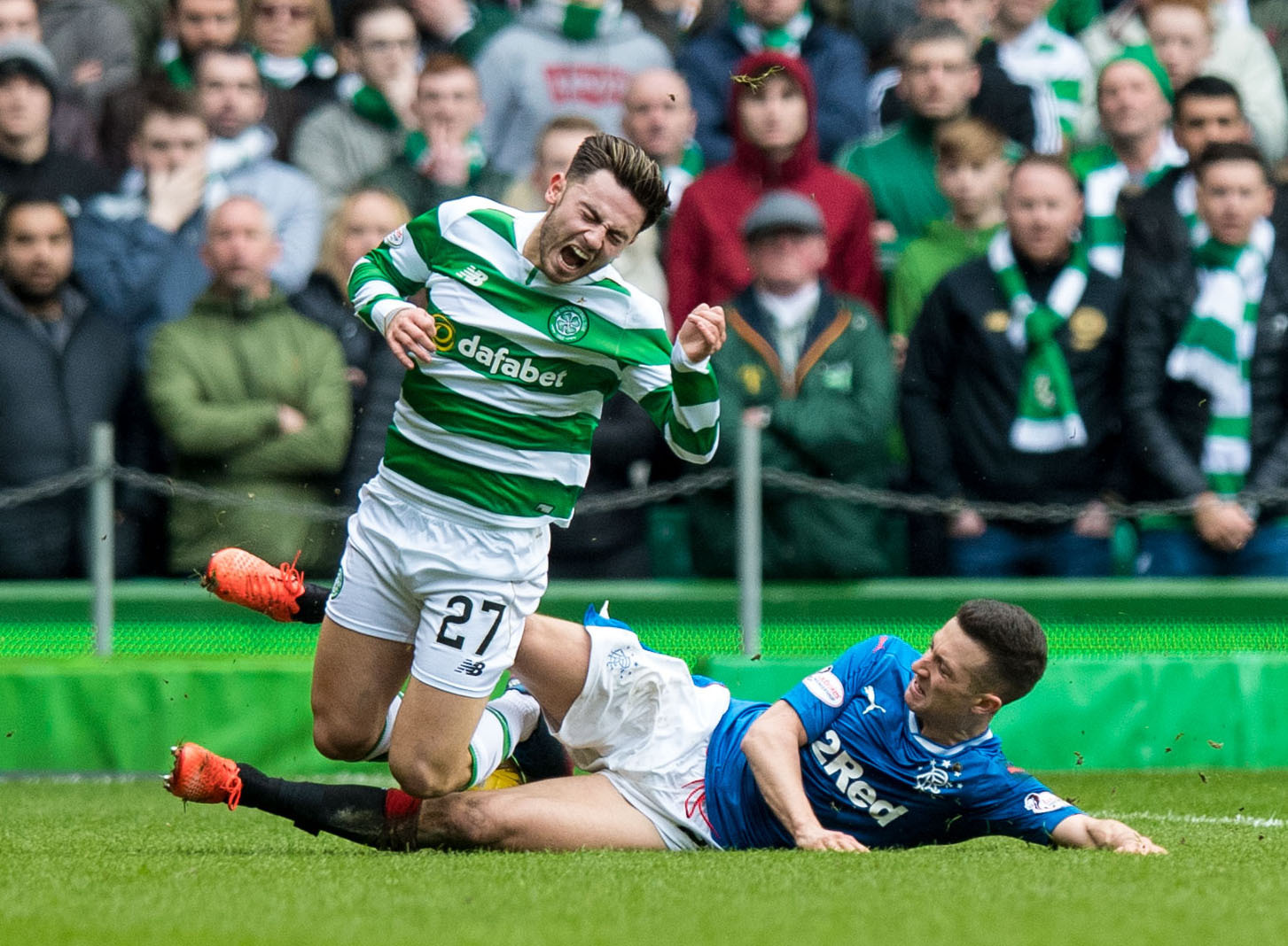 Patrick Roberts is a favourite of the Celtic fans but they haven't seen enough of him