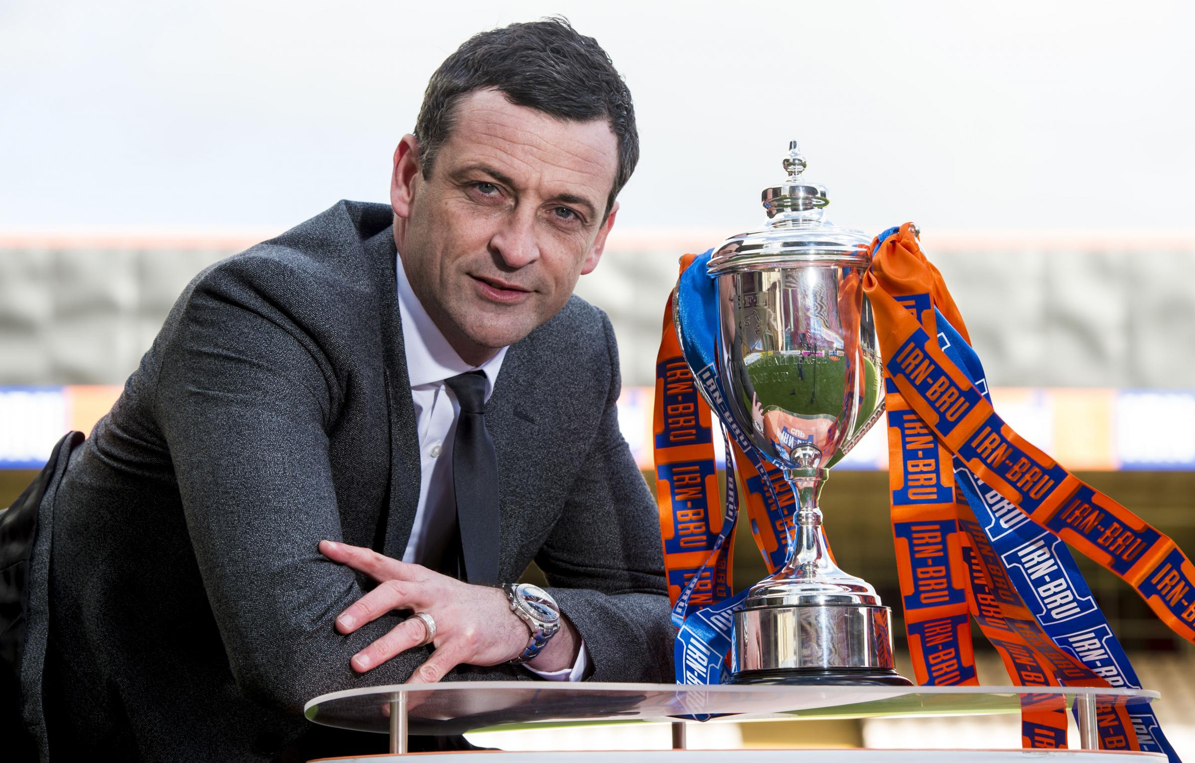 Jack Ross on Brendan Rodgers, why the Irn-Bru Cup matters, and giving something back to the St Mirren fans