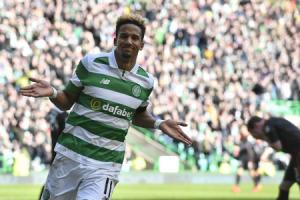 Staying put: Scott Sinclair is more than happy at Celtic (Picture: SNS)