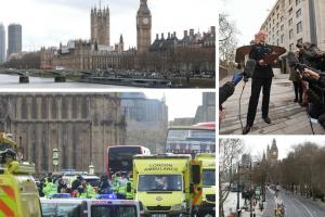 Five dead and at least 40 injured in Westminster terror attack