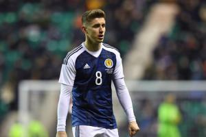Tom Cairney made his Scotland debut