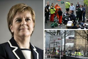 Nicola Sturgeon sends condolences to those caught up in London terror attack
