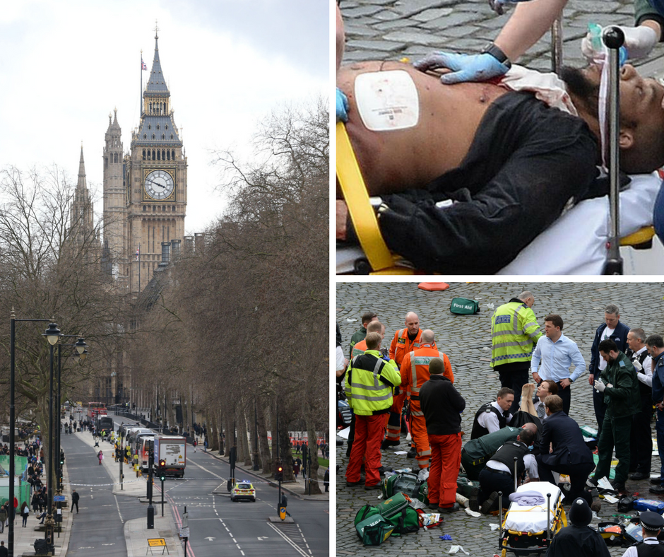 The Westminster attacker who has been named as Khalid Masood. (Stefan Rousseau/PA Wire)