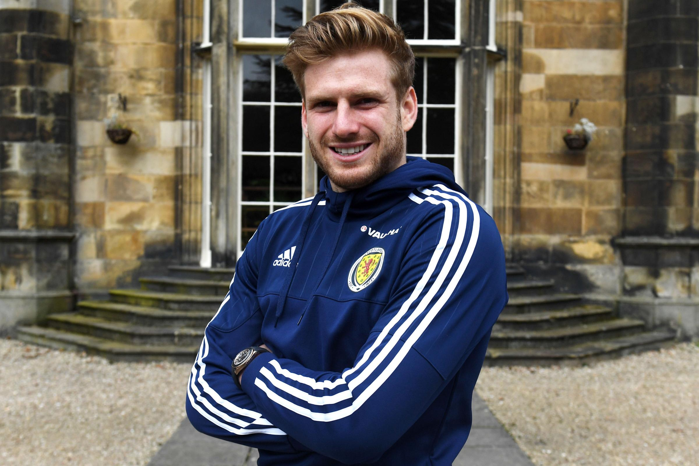 Celtic midfielder Stuart Armstrong relaxed about high expectations ahead of his hotly anticipated Scotland debut