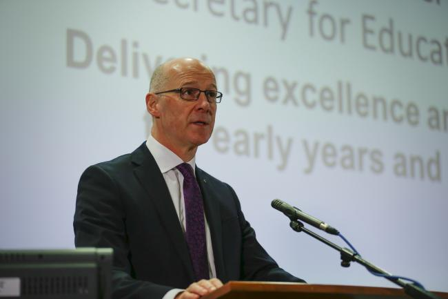 Education Secretary John Swinney has struggled to secure parliamentary support for his plans