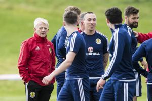 Gordon Strachan knows he can always rely on Scott Brown for support