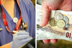 Doctors hit out at below inflation pay rise