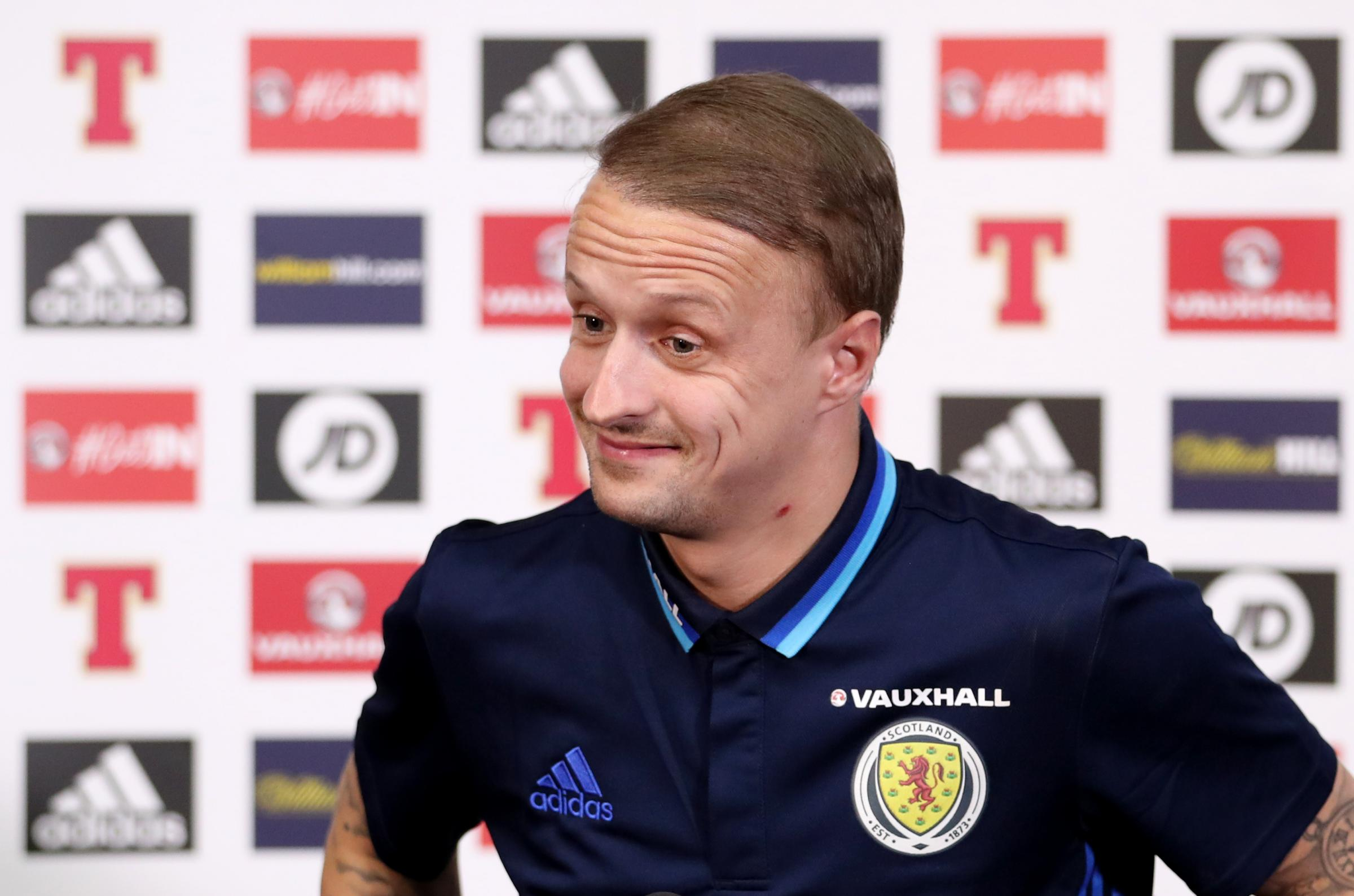 Leigh Griffiths desperate to break Scotland duck – and shut up Celtic teammate Scott Brown