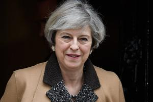 Theresa May (Photo by Leon Neal/Getty Images).