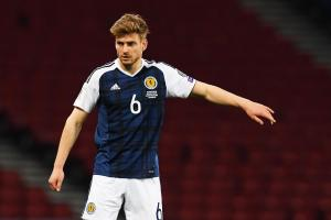 Stuart Armstrong enjoyed a fine debut for Scotland but he didn't beat the English or get earn a handshake from Jock Stein