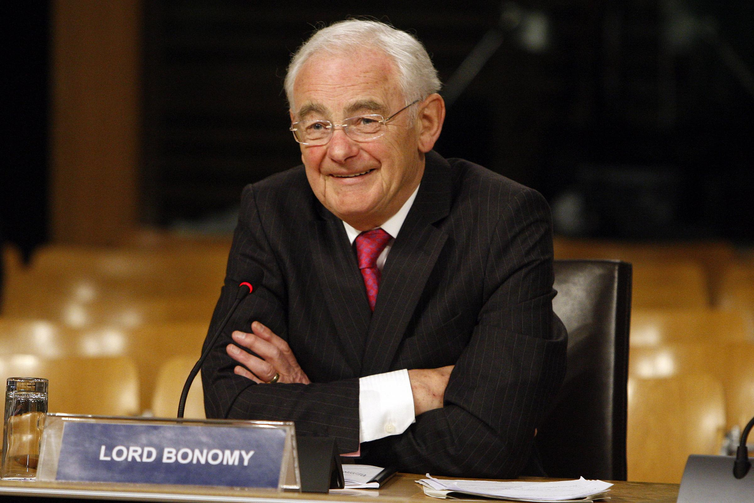 Scottish Parliament handout photo of Lord Bonomy