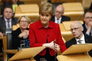Westminster digs in its heels as Holyrood votes for second referendum