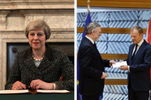 Read Theresa May's Brexit letter to Donald Tusk in full