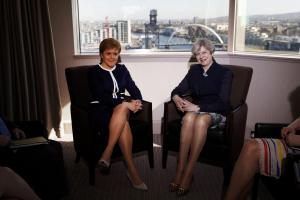 Nicola Sturgeon accuses Theresa May of taking a 'leap in the dark' by triggering Brexit