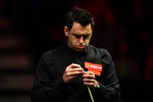Ronnie O'Sullivan went down 5-4 to Mark Joyce. Picture: Getty