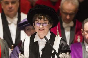Professor Sally Mapstone officially installed as principal of St Andrews University
